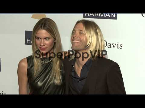 Taylor Hawkins, Allison Hawkins at Pre-GRAMMY Gala and Sa...