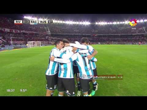 River Plate vs Racing Club (2-3) Torneo Argentino 2016/17 - Resumen FULL HD