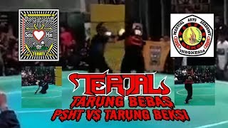 Tarung Bebas PSHT vs Silat Tarung Beksi