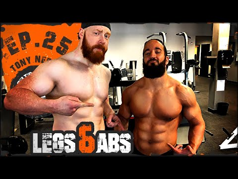 Celtic Warrior Workouts: Ep.025 Premier Athlete Legs Workout with Tony Nese...