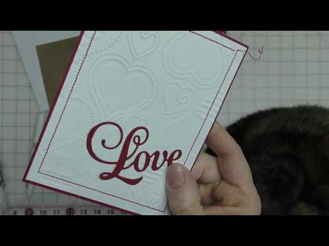 Sewing on Your Handmade Cards Gives More Dimension-Quick Multiple Occasion Cards using Stitching
