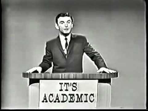 It's Academic 1950s TV Quiz