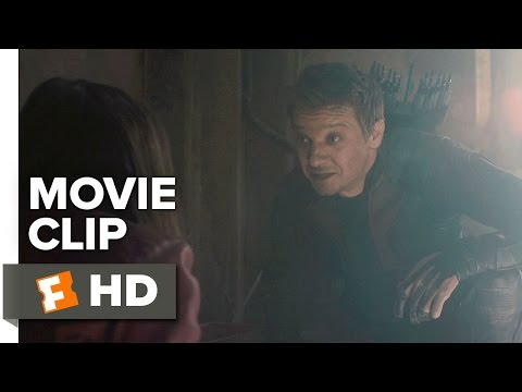 Avengers: Age of Ultron Movie CLIP - You're An Avenger (2015) Jeremy Renner Movie HD