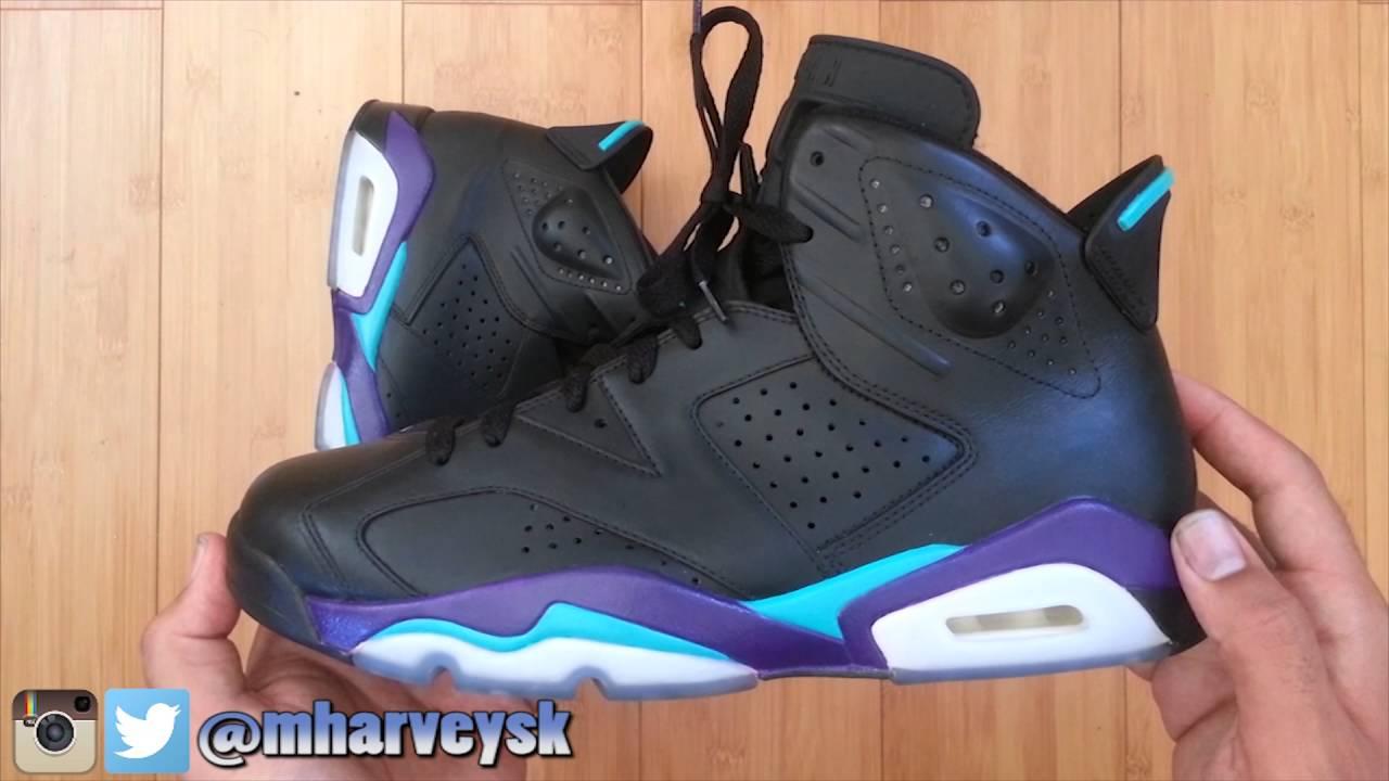 Jordan 6 SAMPLE Black Grape - YouTube