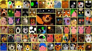 ROBLOX PIGGY 2 ALL JUMPSCARES SLOW MOTION