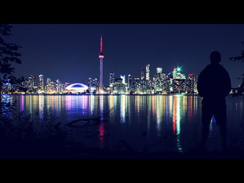 TORONTO SKYLINE AT NIGHT - 2014
