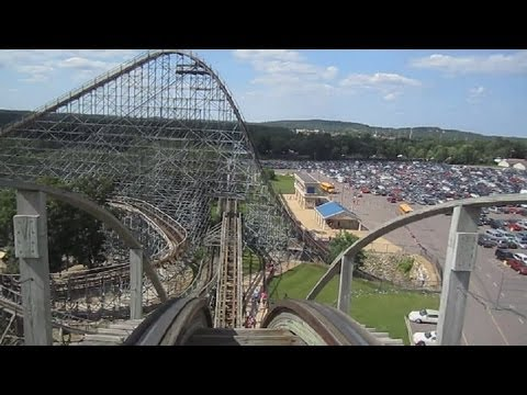 Zeus Front Seat on-ride HD POV Mt. Olympus Water & Theme Park