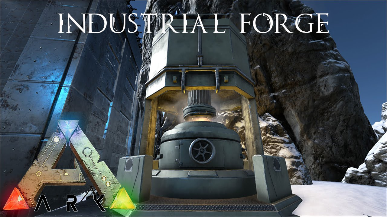 Ark survival evolved industrial forge youtube malvernweather Image collections