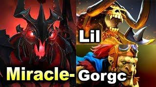 Miracle- Shadow Fiend vs Lil & Gorgc - 9000 MMR DOTA 2
