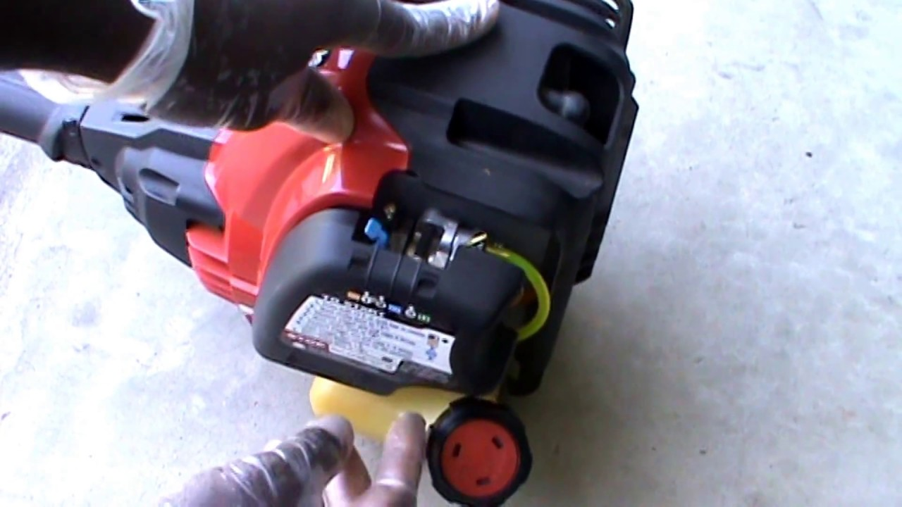 how to easily replace the fuel lines on troy bilt 4 cycle weed eater trimmer leaf blower [ 1280 x 720 Pixel ]
