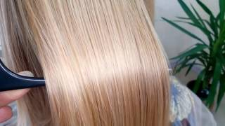 Кератиновое выпрямление волос + полировка