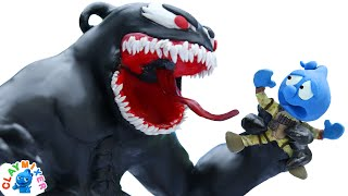 Tiny is Consumed by Fearsome Symbiote - Stop Motion Animation Short Film