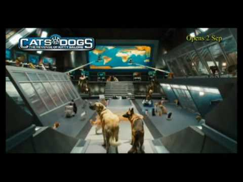 Download Cats & Dogs : The Revenge Of Kitty Galore Trailer