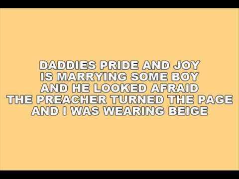 [On Screen Lyrics] Pistol Annies - Beige