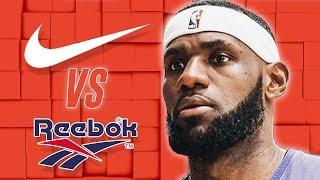 Why LeBron James Chose Nike Over Reebok & How