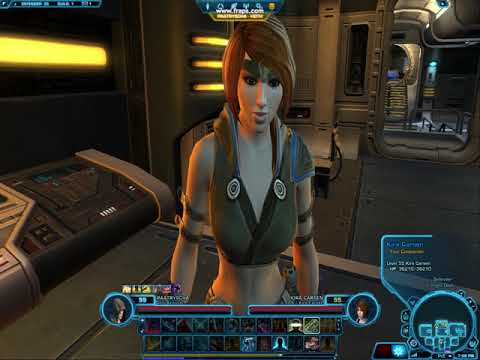 Chatting with Kira (Star Wars: Old Republic)