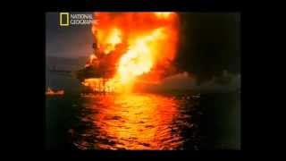 Explosion in the North Sea (Piper Alpha)