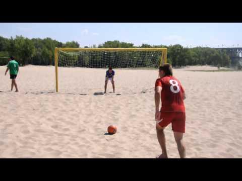 Пляжный футбол. Лукасик-Шарлис. Серия пенальти