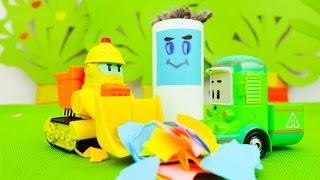 Развивающее видео для детей. Почему нужно убирать мусор? Уроки воспитания(Развивающее видео для детей про игрушки. В картонном городе кто-то определенно любит хорошо покушать, но..., 2016-08-11T14:40:25.000Z)