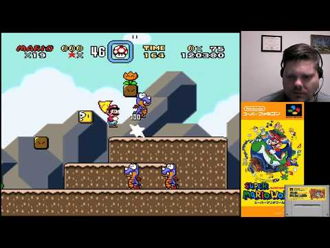 Super Mario World (Part 6) - SNES Classic | VGHI Play 'n' Chat Live Stream