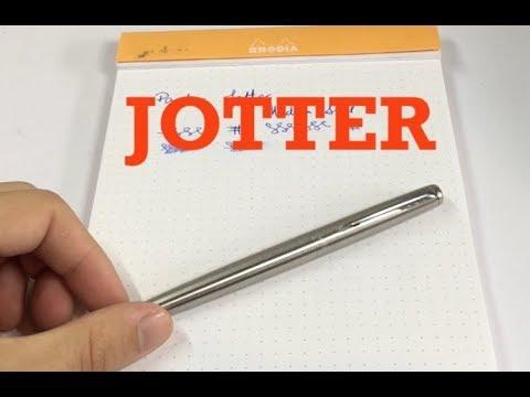 Quick Review: Parker Jotter Fountain Pen