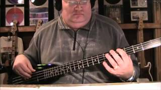 Robert Palmer Doctor Doctor Give Me The News I Got a Bad Case of Loving You Bass Cover