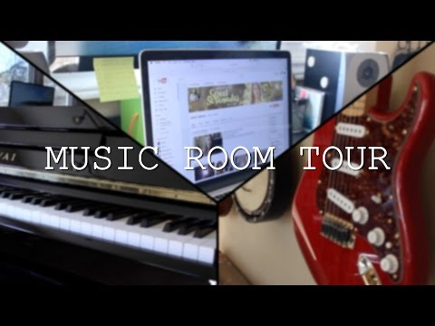 MUSIC ROOM TOUR