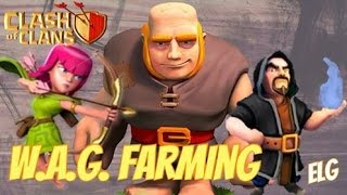 Clash of Clans | WAG ATTACK STRATEGY | Town Hall 7 Best Farming Strategy