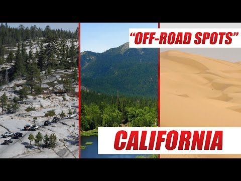 Top 5 Offroad 4x4 Trails in California