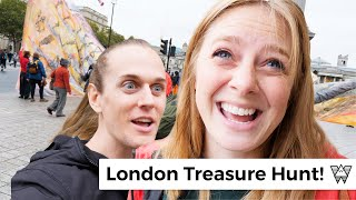 The BEST tour in London? | Hidden City Treasure Hunt!