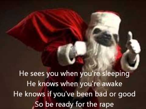sloth song Christmas version - YouTube