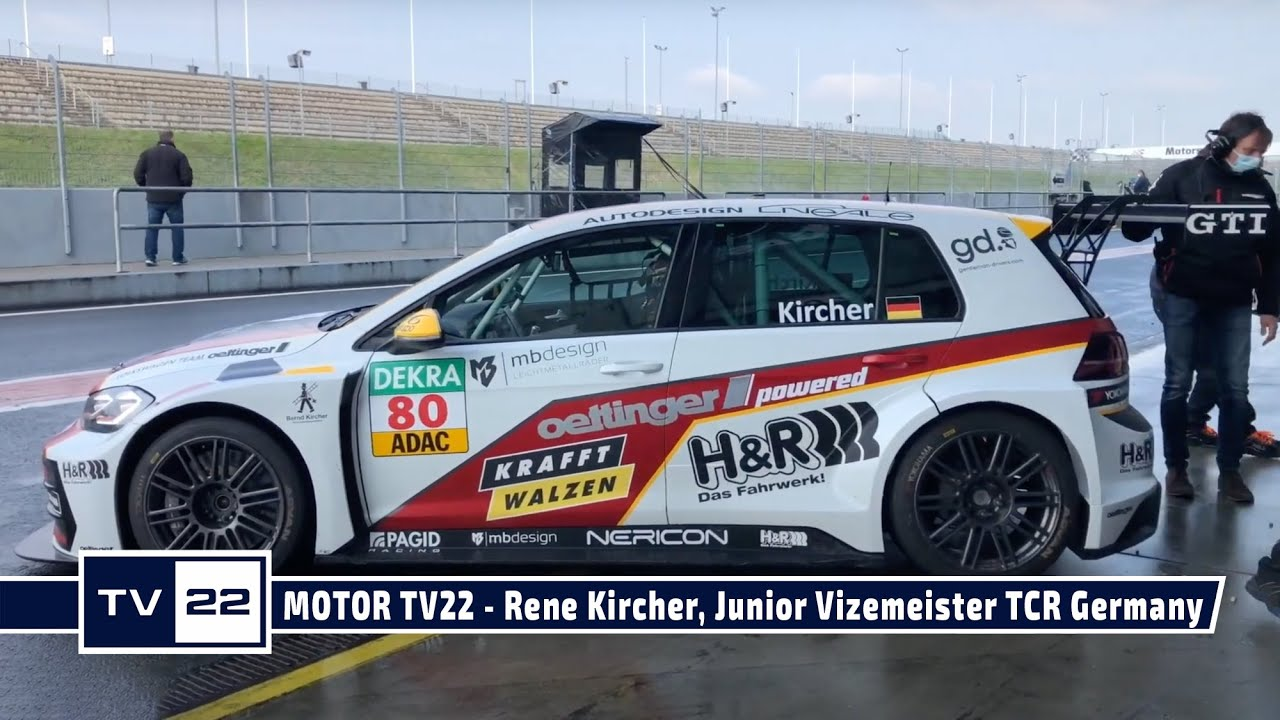 MOTOR TV22: Rene Kircher, Junior Vizemeister TCR Germany, im Interview