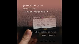Kristin Abigail | Preserving Your Family Home Videos | Digitalizing Tapes