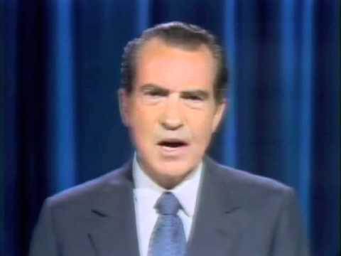 President Nixon Announces Trip To China