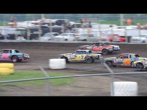 June 24, 2018 IMCA Hobby Stock Feature at Benton County Speedway