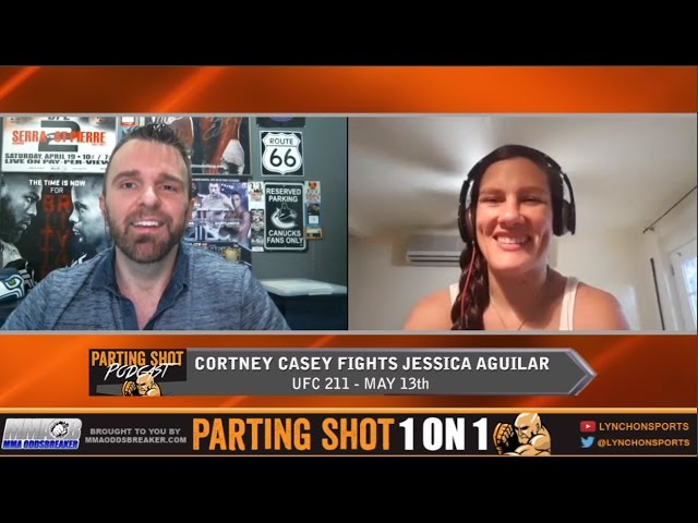 "UFC 211's Cortney Casey ""I'll utilize my range and TKO Jessica Aguilar in the 2nd round"""