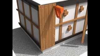 Metsä Wood ThermoWood Vertical Cladding installation video