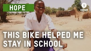 Bicycles Beat Poverty | Oxfam GB
