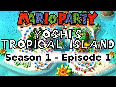 LP Every Mario Party - Yoshi's Tropical Island (Mario Party 1)