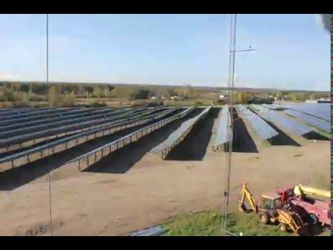 Clarkson Solar Time Lapse