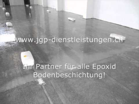epoxidharz bodenbeschichtung jgp dienstleistungen gmbh youtube. Black Bedroom Furniture Sets. Home Design Ideas