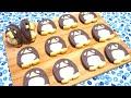 アイスボックスクッキー ペンギン 作り方 Icebox Cookie (Refrigerator Cookie)  (Pe…