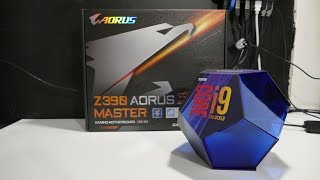 i9 9900k unboxing and installation