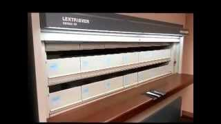 Kardex Lextriever Series 80 Automated Vertical Carousel File Storage