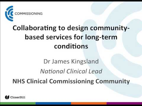 Collaborating to Design Community-based Services for Long-term Conditions