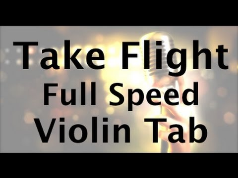Learn Take Flight by Lindsey Stirling on Violin  - FULL SPEED - How to Play Tutorial