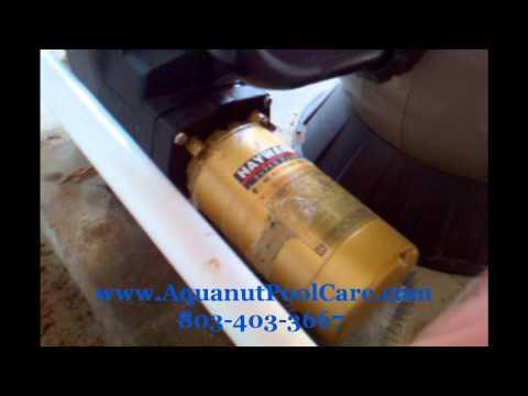hayward pool pump electrical hook up