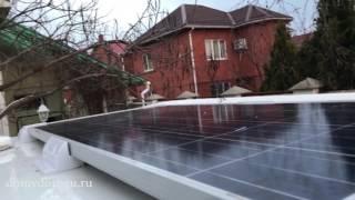 Солнечные батареи в доме на колесах Hobby Prestige