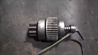 Ремонт бендикса стартера магнетон двигателя Д240-245...
