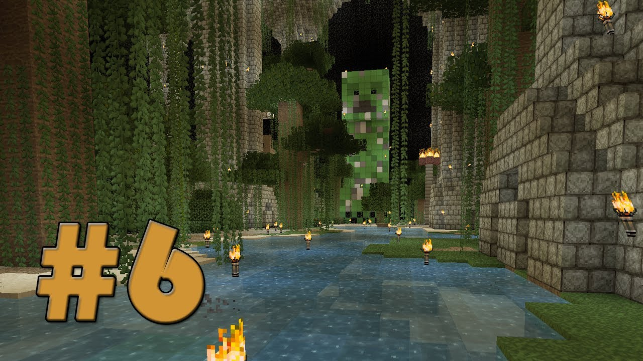Jungle River Minecraft Old World New Map 6 Youtube